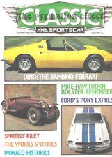 Shelby Mustang Humber Sceptre Wolsey 16/60 Escort RS2000 Ferrari Dino 246 GT6
