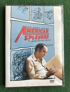 American Splendor DVD Paul Giamatti Hope Davis Harvey Pekar Bio 2003 new sealed
