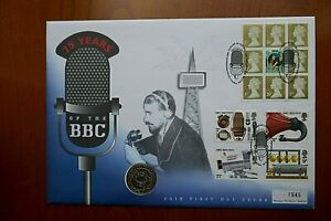 1997  2 Pounds - BBC in Large First Day Cover  (109)