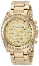 Michael Kors Blair Gold Tone Chronograph Ladies' Runway Designer Watch MK5166