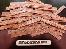 50 Holzleisten Meranti 50mm x 6mm  bis  8mm x 0,6mm  L/B/H  Neu