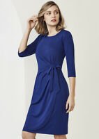 Biz Collection Ladies Paris Dress Crease Resistant Soft Knitted Jersey Fabric