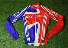 RARE CYCLING SHIRT JERSEY MAGLIA TRIKOT CAMISETA GREAT BRITAIN SKY ADIDAS SIZE S