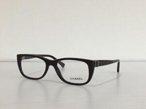 13 CHANEL 3286 c.1461 Rectangle Burgundy Eyeglasses Optical Frame 53*17*140