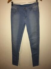Denim Co Jeans Super Skinny Ultra Soft Light Blue Size 8 <R4818