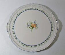 "Villeroy & Boch ROMANTICA 12-3/4"" Handled Cake Plate EXCELLENT"