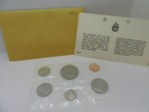 1969 Canadian Coin Set