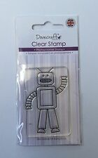 Robot Clear Stamp - Dovecraft