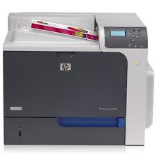 HP Colour Laserjet CP4525DN duplex e rete Stampante laser ricondizionato
