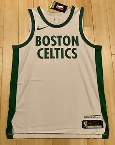 2020-21 Nike Boston Celtics City Edition Blank Authentic Jersey - XXL (56)