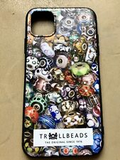 Trollbeads New iPhone 11 Soft Case With Unique Murano Beads OOAK