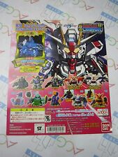 SD Gundam Full Color Custom 12 Gashapon Toy Machine Paper Card Bandai Japan