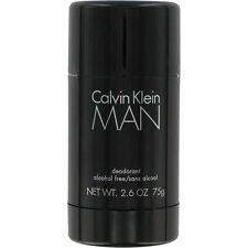Calvin Man by Calvin Klein for Men 2.6 oz Alcohol Free Deodorant Stick Sealed