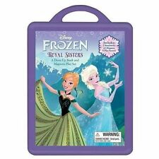Book and Magnetic Play Set: Frozen Book and Magnetic Play Set (2013, Hardcover)