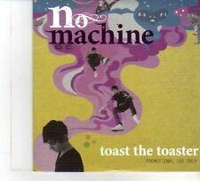 (DW408) No Machine, Toast The Toaster - 2009 DJ CD