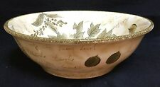 "Tabletops Unlimited Sorrento 13 1/2"" Large Salad Serving Bowl Excellent!"