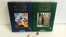 Lot 2 coffrets de 3 DVD Sherlock Holmes Intégrale Miyazaki IDP Premium Meitantei