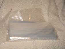 "2 Mil 10"" x 13"" Clear Poly Bags Pack of 50 bags"