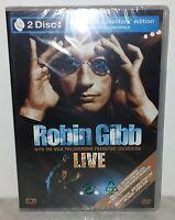DVD + CD ROBIN GIBB - LIVE - NUOVO NEW