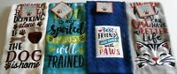 """DOG AND CAT Kitchen Towel Assortment  100% Cotton  15"""" x 25""""  {Your Choice}"""