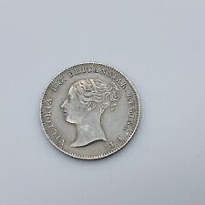 More details for 1838 queen victoria young head silver fourpence groat 4d coin high grade