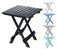 Kunststoff Gartentisch klappbar - 6 Farben - kleiner Campingtisch Beistelltisch