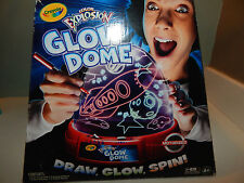 Crayola Color Explosion Glow Dome Draw, Glow, Spin! - New In Box