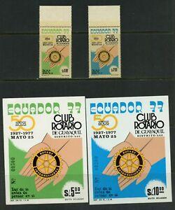 B710  Ecuador  1977  Rotary      MNH