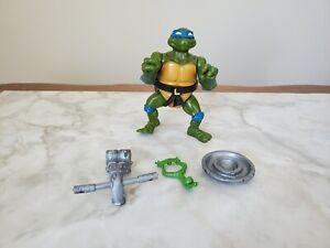 Vintage TMNT Teenage Mutant Ninja Turtles Head Droppin Leo  **100% Complete**