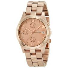 Marc Jacobs Henry Chronograph Rose Gold Tone Stainless Women's Watch MBM3074