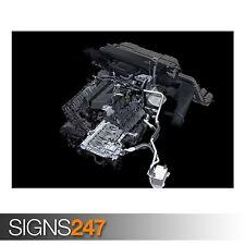 AUDI V8 FSI ENGINE 1 (AD082) CAR POSTER - Photo Poster Print Art A0 A1 A2 A3 A4