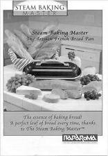 Baparoma Steam Baking Master Bread Pan Instruction Manual