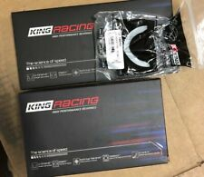 KING RACE BEARINGS AND THRUST SET MB5315XP CR4120XP Mitsubishi Evo 5 6 7 8 9