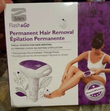 Silk'n Flash & Go Permanent Hair Removal Unit. Slightly Used In Original Box.