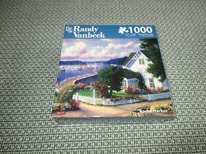 "NIB 1000-Piece KARMIN/VANBEEK Jigsaw PUZZLE - ROCHE HARBOR - SEALED - 27"" x 20"""