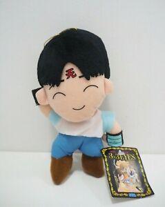 "3x3 Eyes Yakumo Fujii SEGA 1994 Plush 8"" Stuffed TAG Toy Doll Japan"