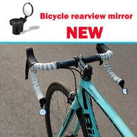 Bicicletta rotante manubrio specchietto specchio retrovisore Per MTB vista 360°