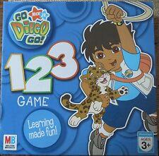 GO DIEGO GO!  1 2 3  GAME - Preschool Learning Game - Milton Bradley Nick Jr.