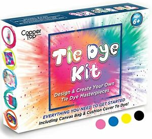 Tie Dye Kit With Cushion Cover And Canvas Bag,Vibrant Tie Dye Paint Perfect Gift