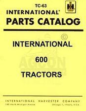 International 600 650 Gas Diesel Part Catalog Manual IH