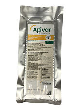 Apivar (10 strips) enough for 5 hives, Varroa treatment, BeeKeeping medication,