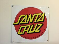 santa cruz 2X2 banner skateboards mancave garage