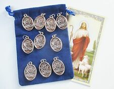 Wholesale Lot 50 St. Medals, First Holy Communion Medals
