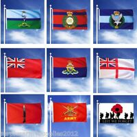 LARGE 5FT X 3FT MILITARY FLAG BRITISH ARMY RAF INFANTRY SIGNALS REME ENGINEERS