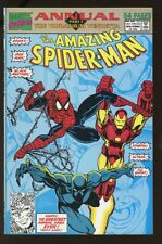 AMAZING SPIDER-MAN KING-SIZE ANNUAL #25 NEAR MINT IRON MAN 1991 bin-2017-1004