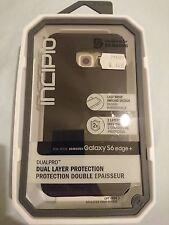 Genuine INCIPIO DualPRO Dual Layer Case for Samsung Galaxy S6 edge + Plus(Black)