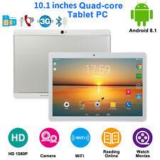 10.1'' HD Android 8.1 Tablet PC MT6580 1+16GB Dual SIM WIFI BT GPS FM 3G Camera