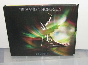RICHARD THOMPSON - ELECTRIC CD ALBUM PLUS BONUS DISC
