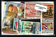 Saint Christophe et Niévès - St Kitts and Nevis 50 timbres différents
