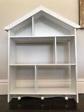 White Bookshelves DVD 3 Shelves